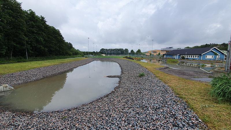 Dagvattendamm Nya Särö Centrum